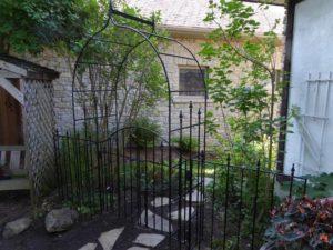Custom Wrought Iron Garden Decor