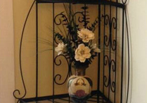 Custom Wrought Iron Plant Stand
