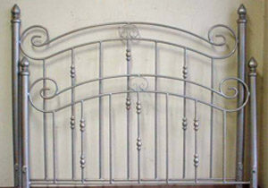 Custom Wrought Iron Bed Frame
