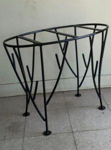 Custom Wrought Iron Table