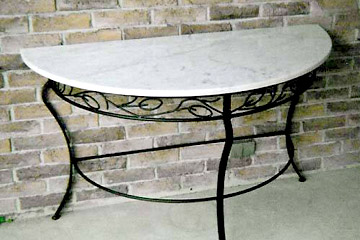 Custom Wrought Iron Table